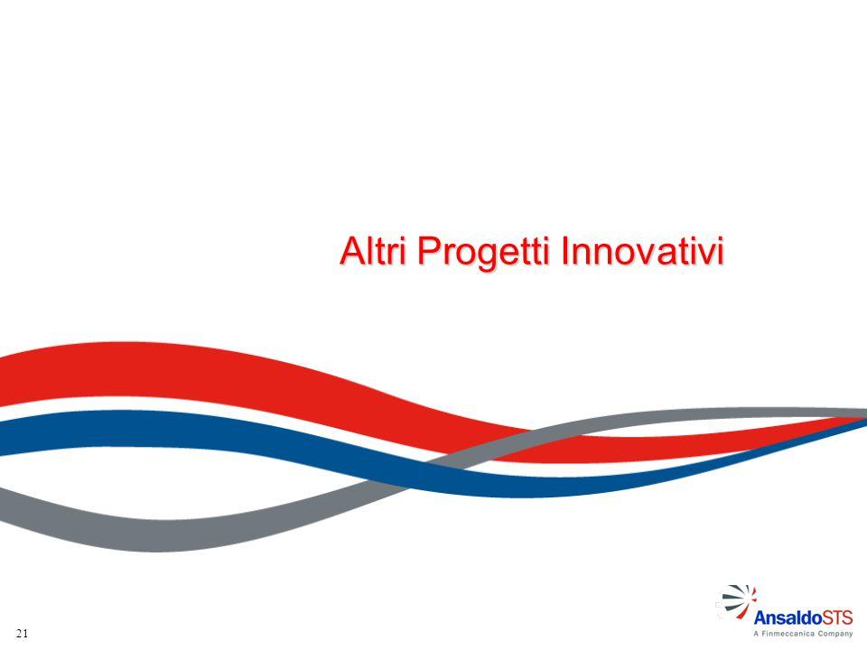 21 Altri Progetti Innovativi