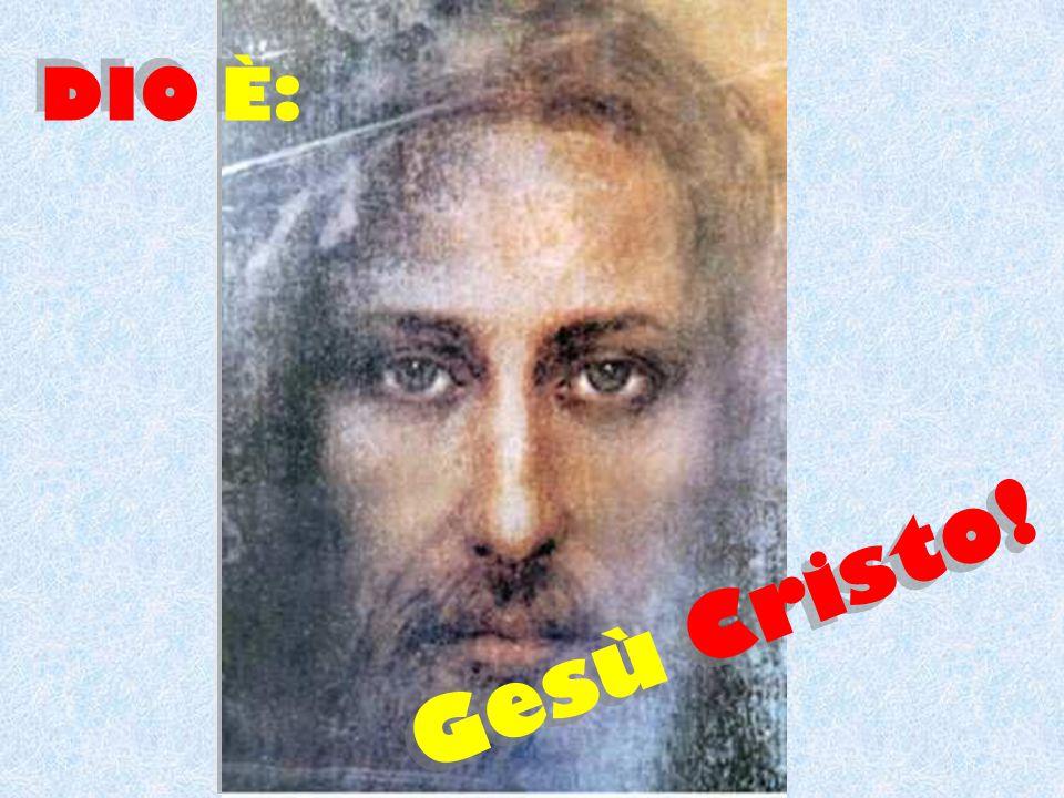 Gesù è uomo e… Dio.