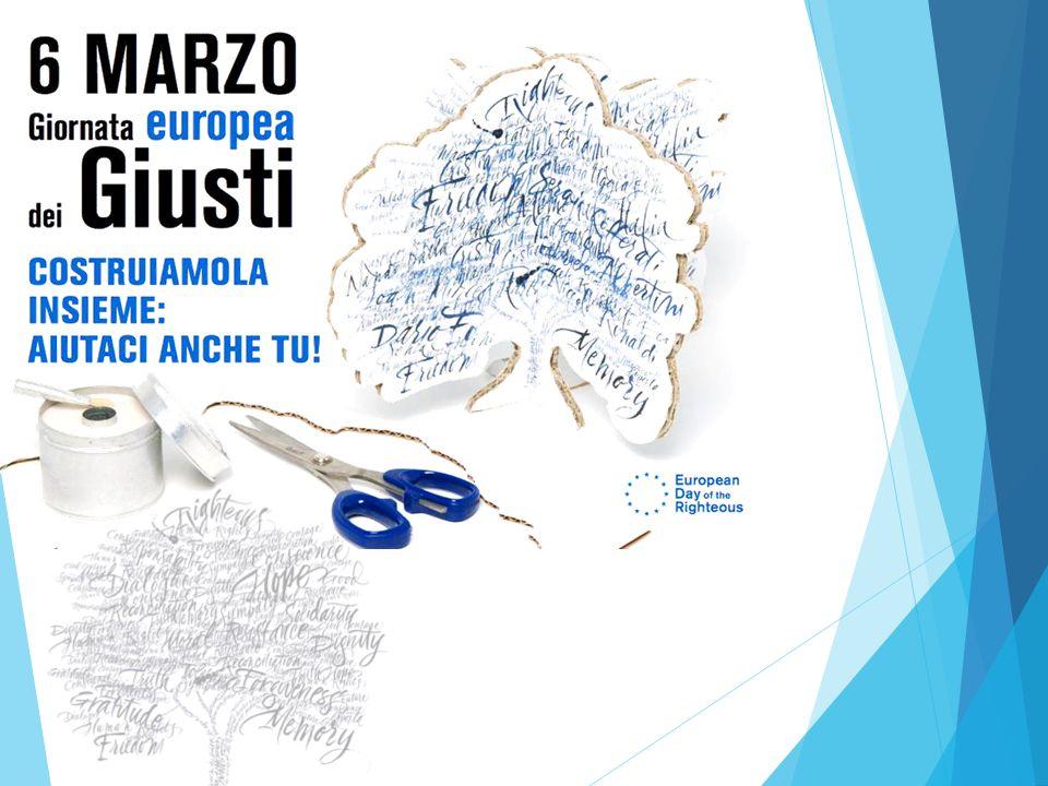 6 marzo 2015 a Milano Ieri e oggi, i Giusti sono sempre necessari E' il tema scelto per celebrare quest'anno la Giornata europea dei Giusti.