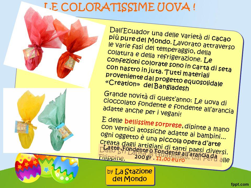 Dall'Ecuador una delle varietà di cacao più pure del Mondo.