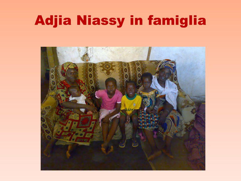 Adjia Niassy in famiglia