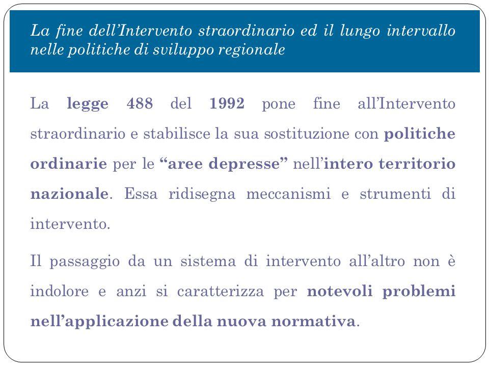  Addizionalità economica : la spesa in conto capitale pro capite nel Mezzogiorno è inferiore alla media nazionale (ancora di più lo è quella per i soli investimenti pubblici); misurata rispetto al PIL è, invece, maggiore.