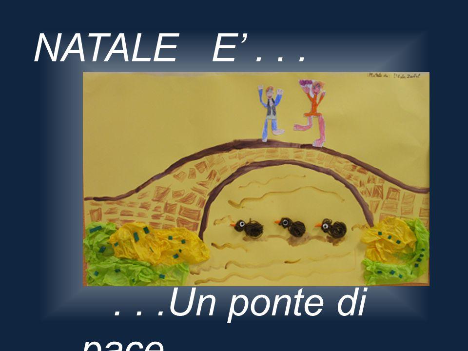 NATALE E'......Un ponte di pace