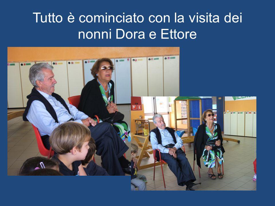 Tutto è cominciato con la visita dei nonni Dora e Ettore
