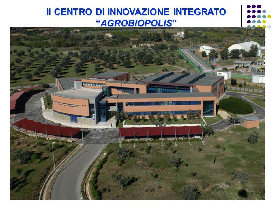 Il CENTRO DI INNOVAZIONE INTEGRATO AGROBIOPOLIS