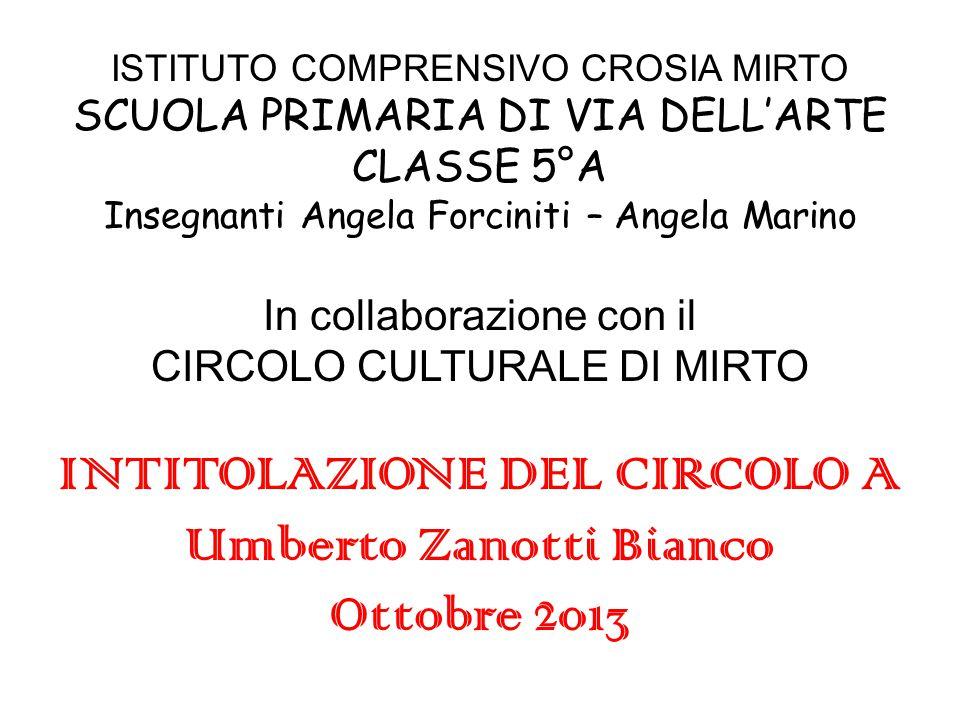 Umberto Zanotti Bianco scrittore, educatore … L'amico della Calabria