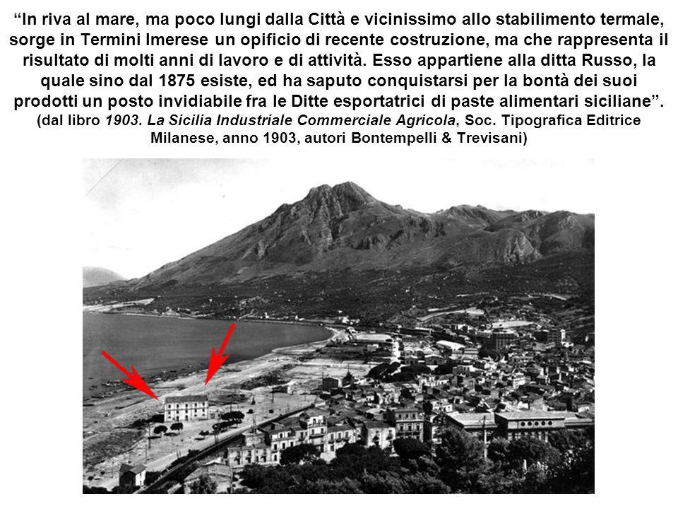 Mulino Ant.no Arrigo & Figli Già Mulino e Pastificio Luigi D'Asaro fu Francesco