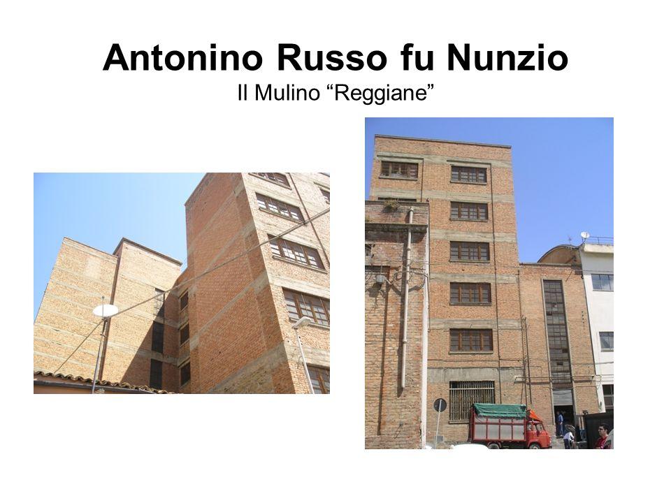 """Antonino Russo fu Nunzio Il Mulino """"Reggiane"""""""