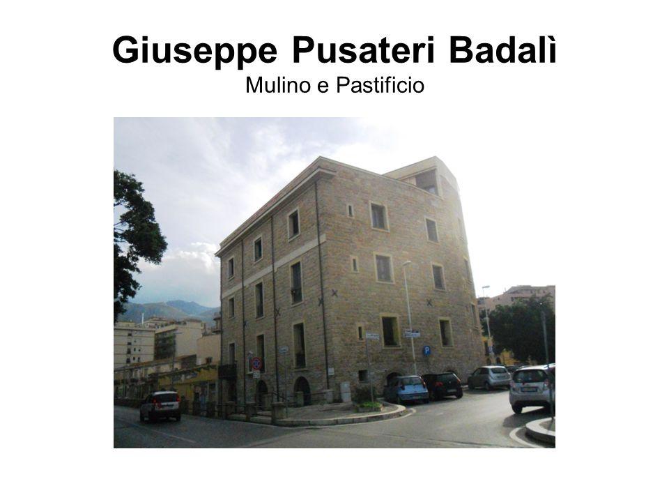 Giuseppe Pusateri Badalì Mulino e Pastificio