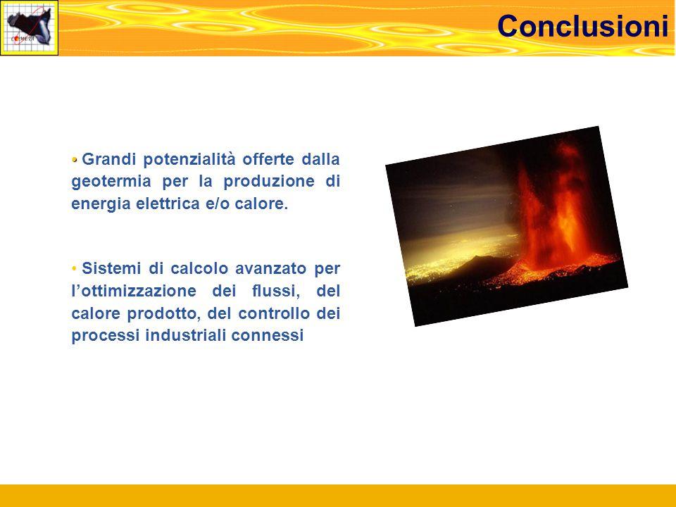 Grandi potenzialità offerte dalla geotermia per la produzione di energia elettrica e/o calore.