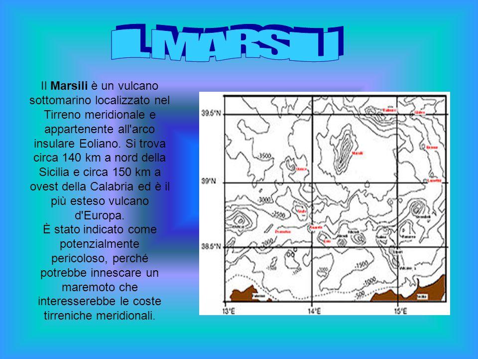 Il Marsili è un vulcano sottomarino localizzato nel Tirreno meridionale e appartenente all'arco insulare Eoliano. Si trova circa 140 km a nord della S