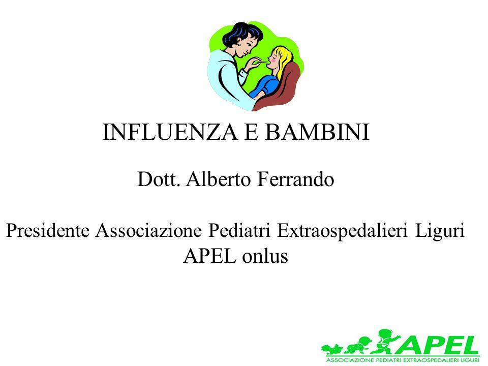 INFLUENZA E BAMBINI Dott.