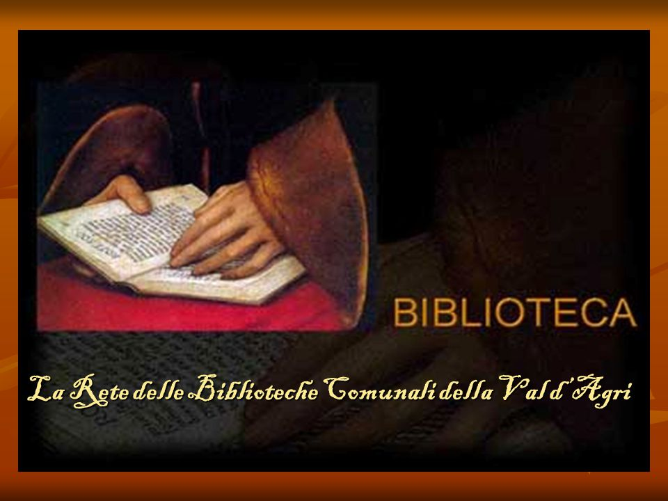 La Rete delle Biblioteche Comunali della Val d'Agri
