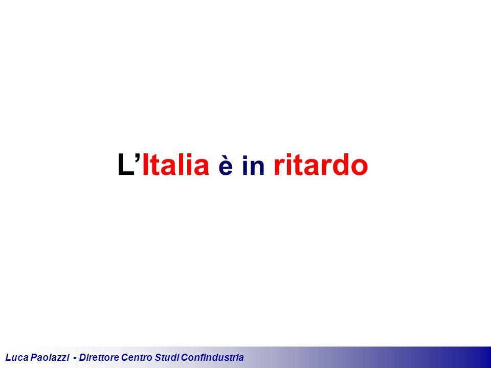 Luca Paolazzi - Direttore Centro Studi Confindustria L'Italia è in ritardo
