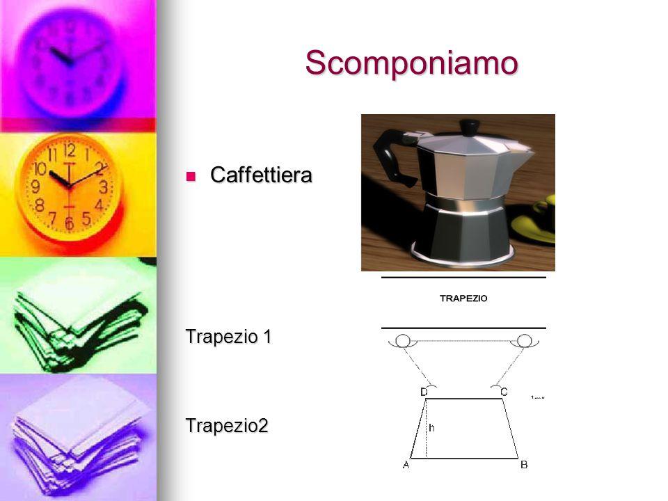 Scomponiamo Caffettiera Caffettiera Trapezio 1 Trapezio2