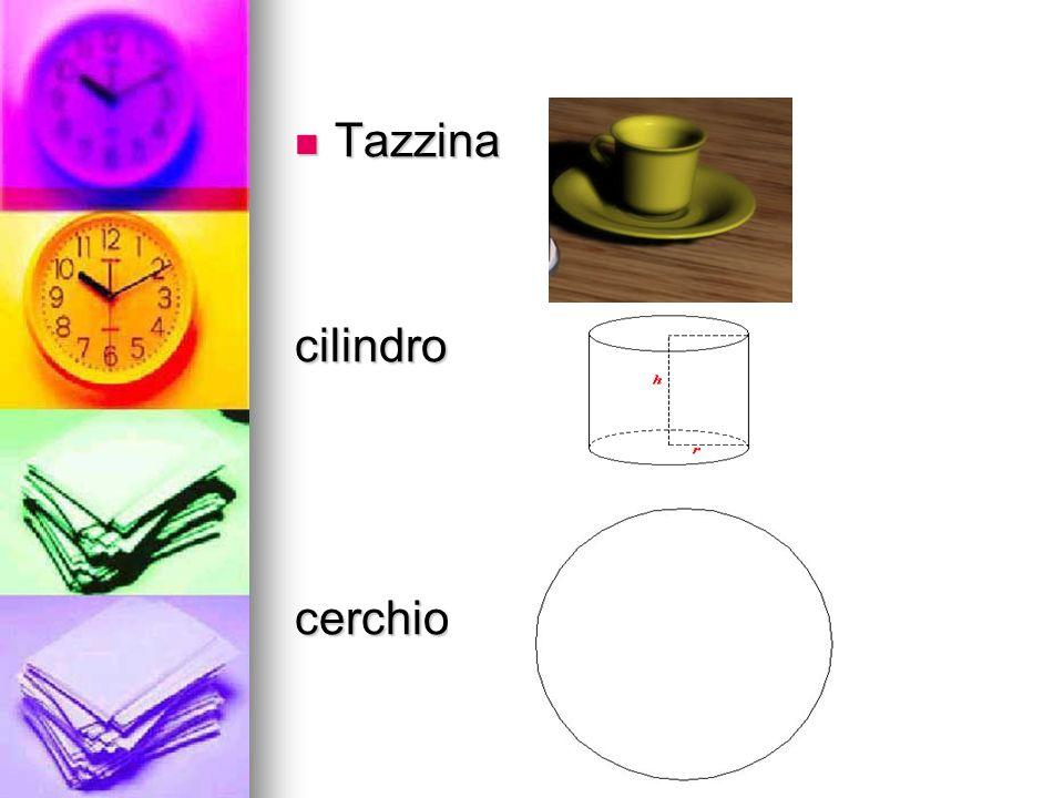 Tazzina Tazzinacilindrocerchio