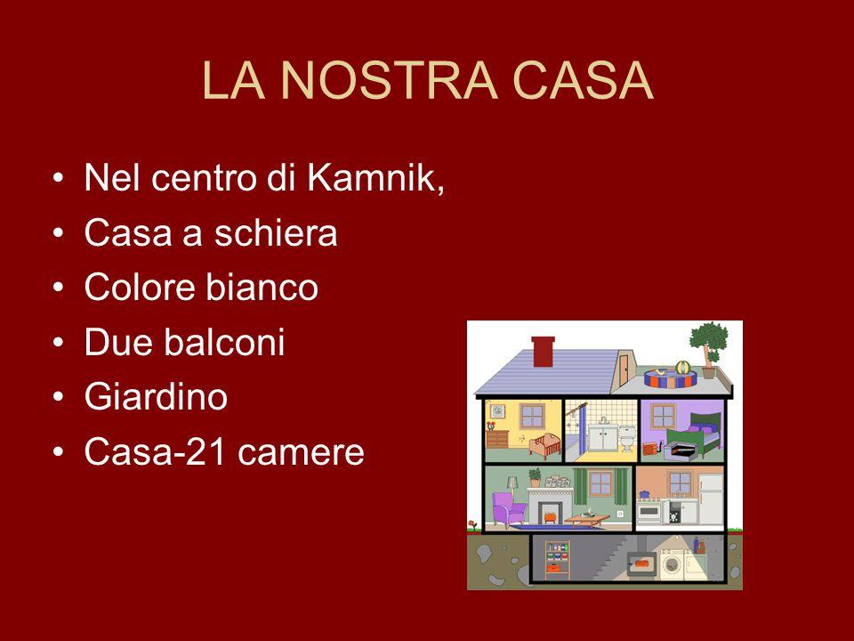 LA NOSTRA CASA Nel centro di Kamnik, Casa a schiera Colore bianco Due balconi Giardino Casa-21 camere