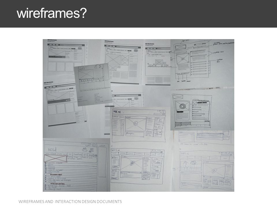 WIREFRAMES AND INTERACTION DESIGN DOCUMENTS 42