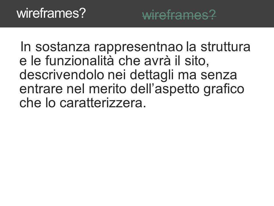Ad esempio potete usare anche illustrator WIREFRAMES AND INTERACTION DESIGN DOCUMENTS 37