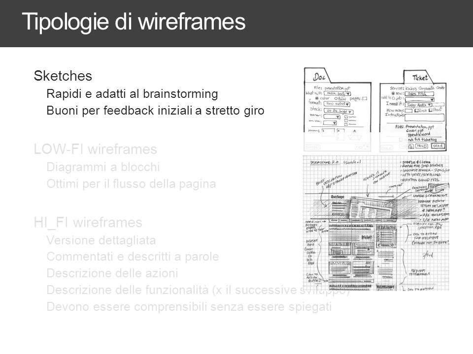 MA anche a mano libera WIREFRAMES AND INTERACTION DESIGN DOCUMENTS 38
