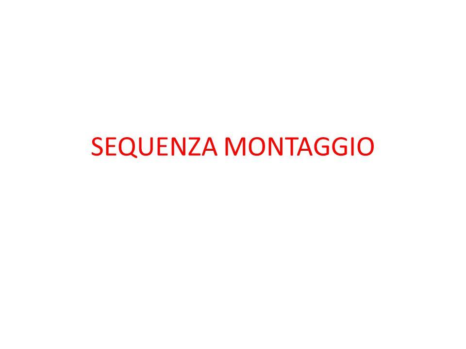 SEQUENZA MONTAGGIO