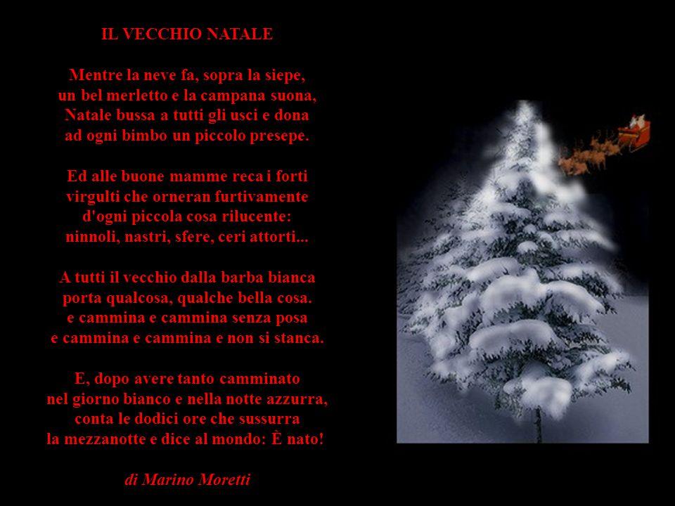 NATALE Si avvicina il Natale, nell'aria si respira un profumo di gioia e di amore. Se ti guardi intorno non vedrai che serenità! Ma...cosa succede? Là