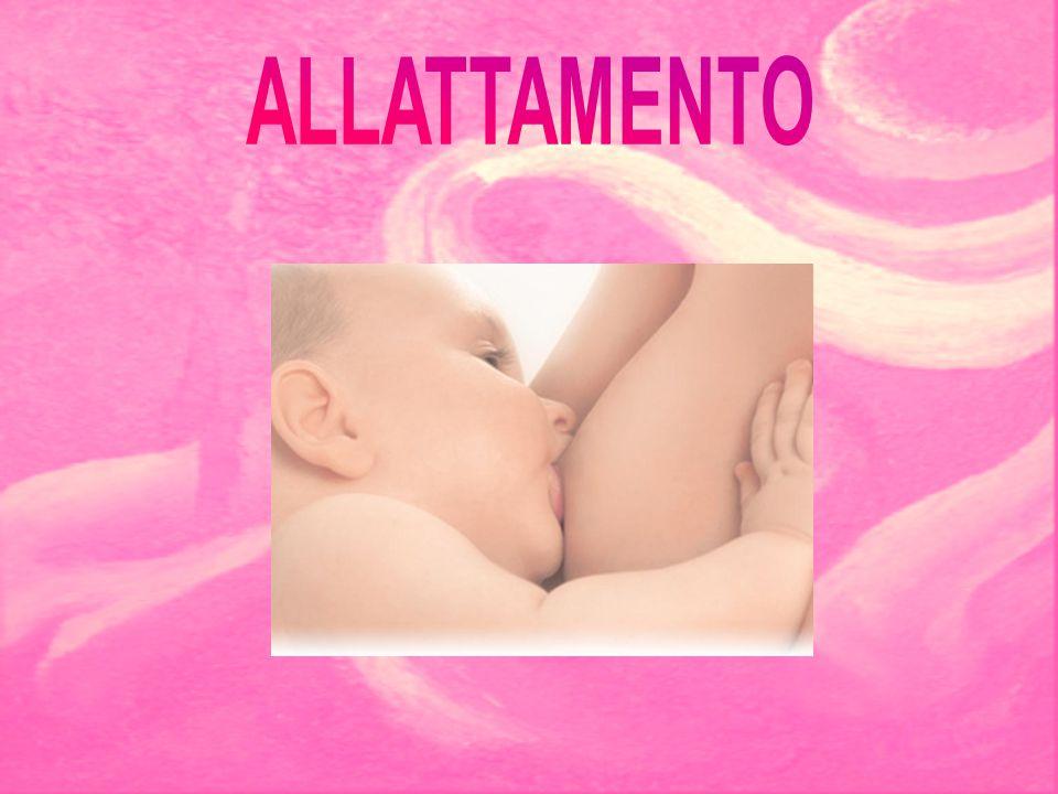 L'allattamento inizia subito dopo il parto in conseguenza della busca riduzione dei livelli di estrogeni e progesterone.