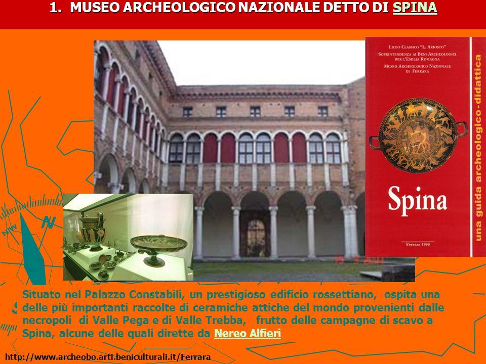 1.PALAZZO COSTABILI E IL CIELO IN UNA STANZA Palazzo Constabili,progettato da B.