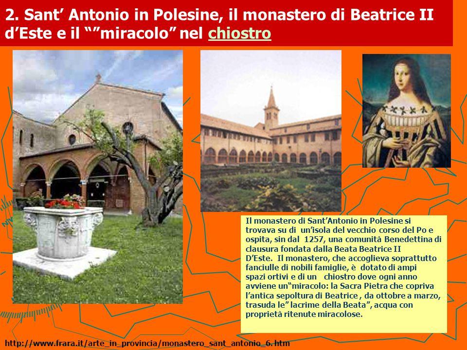 3.Casa Romei: Polissena d'Este e il giardino in una stanza.