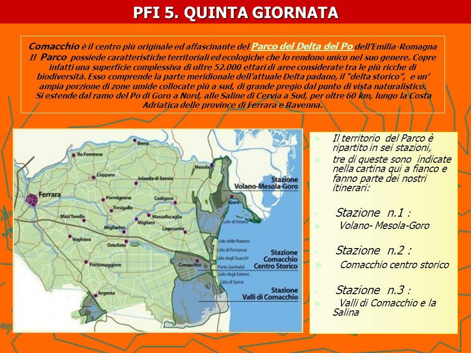 PF I- 5.PROPOSTA DI PERCORSO trekking e birdwatching MATTINA: Accoglienza al R.