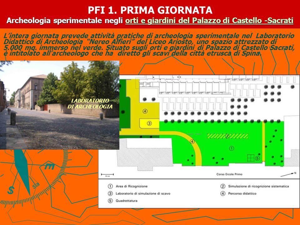 ATTIVITA' DI LABORATORIO MATTINA: Accoglienza all'Ariosto: presentazione delle sei giornate e distribuzione del materiale didattico.