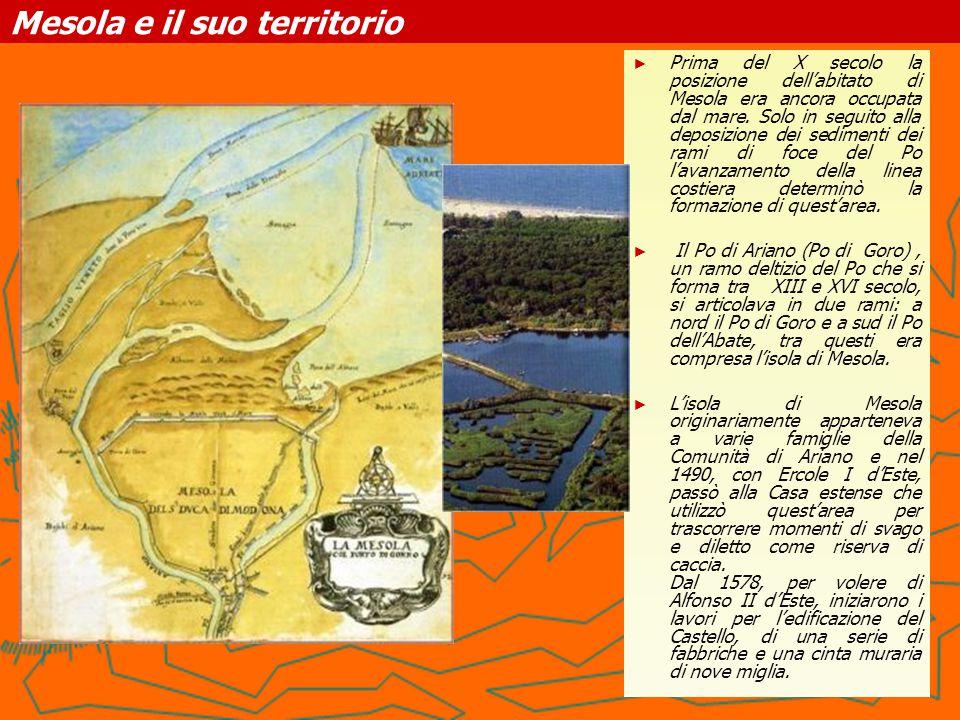Castello Estense di Mesola ► ► Il Castello Estense della Mesola ospita l'interessante Centro di Educazione Ambientale.