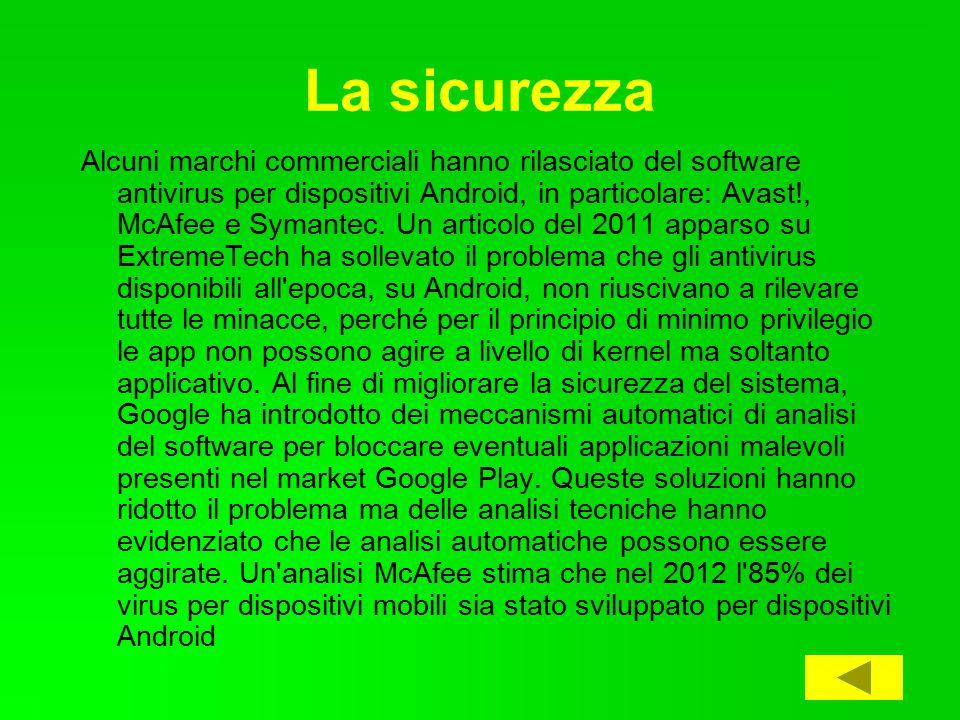 Aggiornamenti Android ha un rapido ciclo di rilascio, con il rilascio di nuove versioni ogni sei- nove mesi.