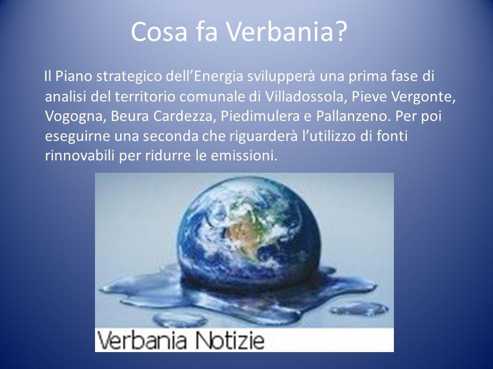 Cosa fa Verbania.
