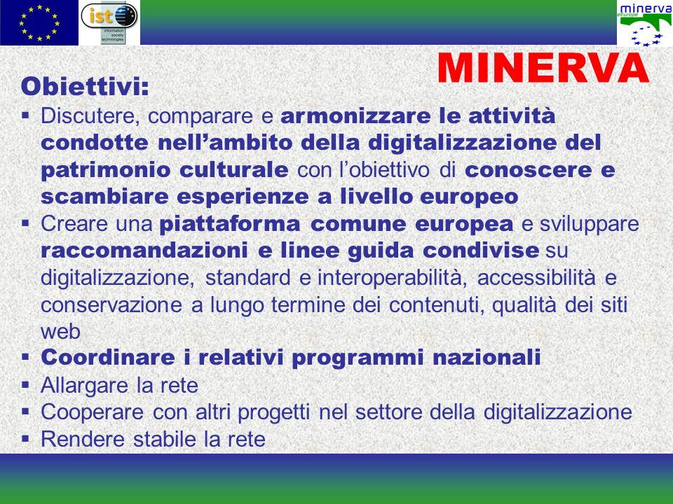 Principi per la qualità di un sito web culturale Un sito Web culturale di qualità celebra la diversità culturale europea fornendo l accesso a tutti i contenuti culturali digitali.