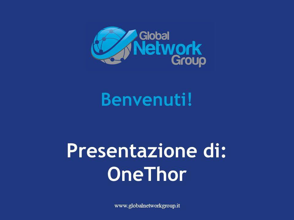 Benvenuti! Presentazione di: OneThor