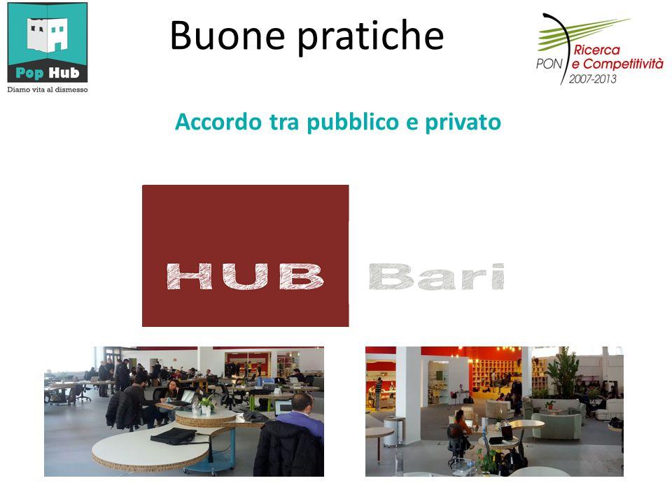 Accordo tra pubblico e privato Buone pratiche