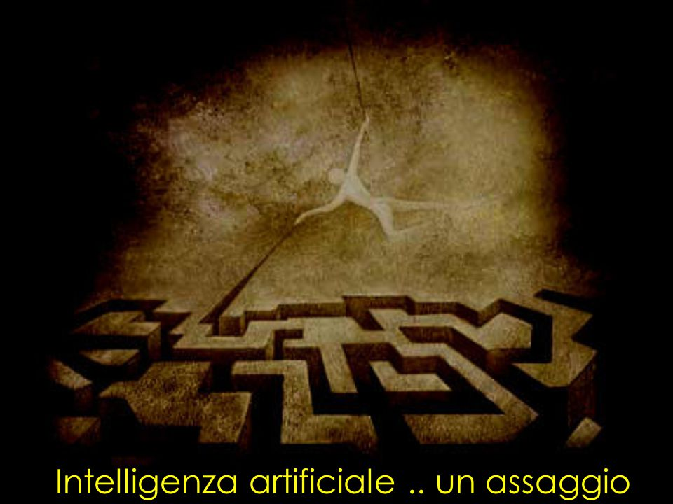 Intelligenza artificiale.. un assaggio