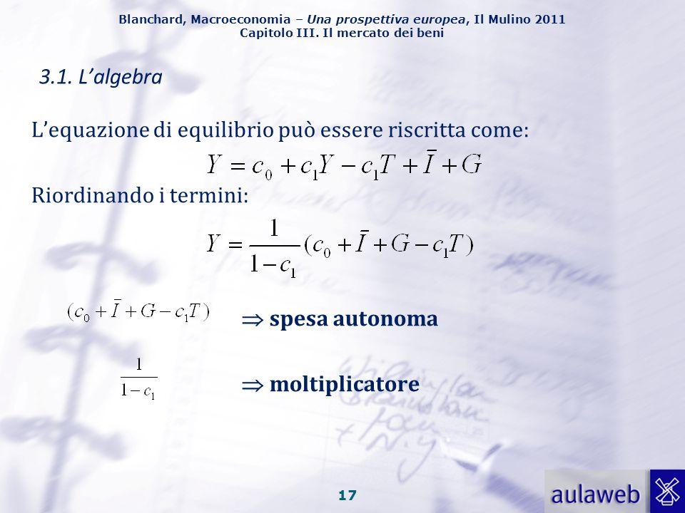 Blanchard, Macroeconomia – Una prospettiva europea, Il Mulino 2011 Capitolo III. Il mercato dei beni 16 I macroeconomisti seguono generalmente tre pas