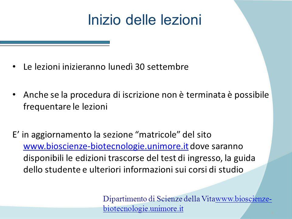 7 Lingua inglese: placement test Mercoledì 25 settembre 2013: prova di valutazione del livello di conoscenza della lingua inglese – PER TUTTI.