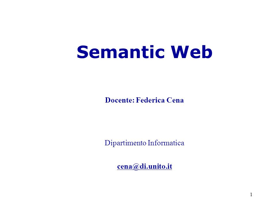 2 Semantic Web a.a.