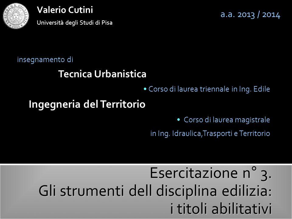 valerio cutini a.a.2013-2014 L'art.