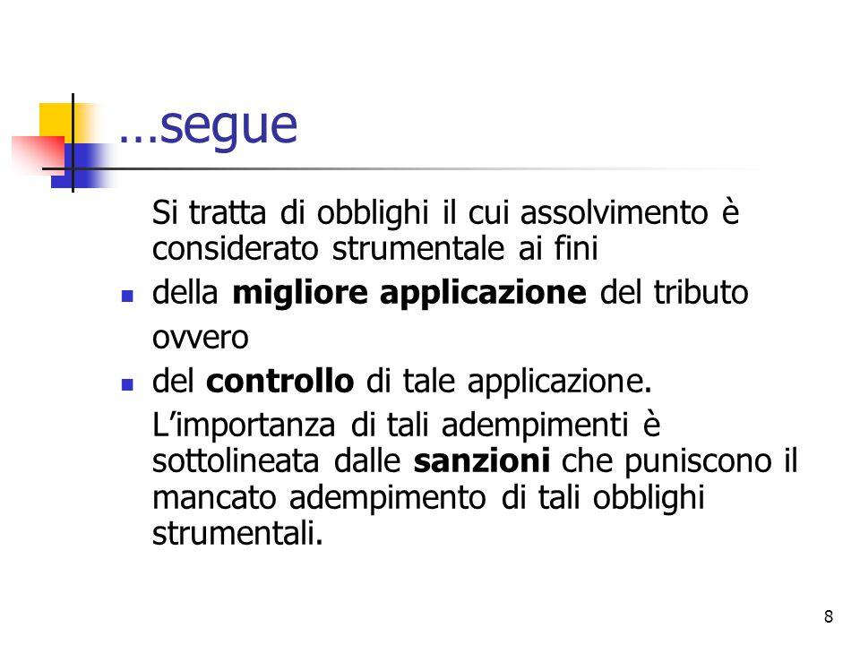 29 Per Tesauro… La dichiarazione non è una dichiarazione di volontà, ma è un mero atto.
