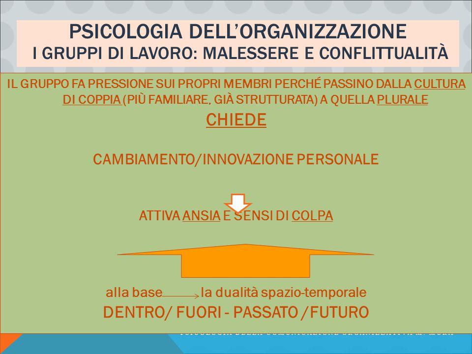 PSICOLOGIA DELL'ORGANIZZAZIONE (KANEKLIN, METITIERIU, IN ARGENTERO, CAP.