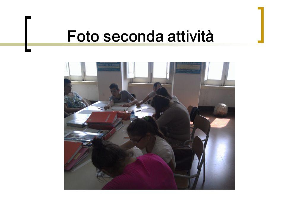 Foto seconda attività