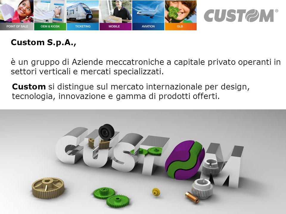 Custom si distingue sul mercato internazionale per design, tecnologia, innovazione e gamma di prodotti offerti.