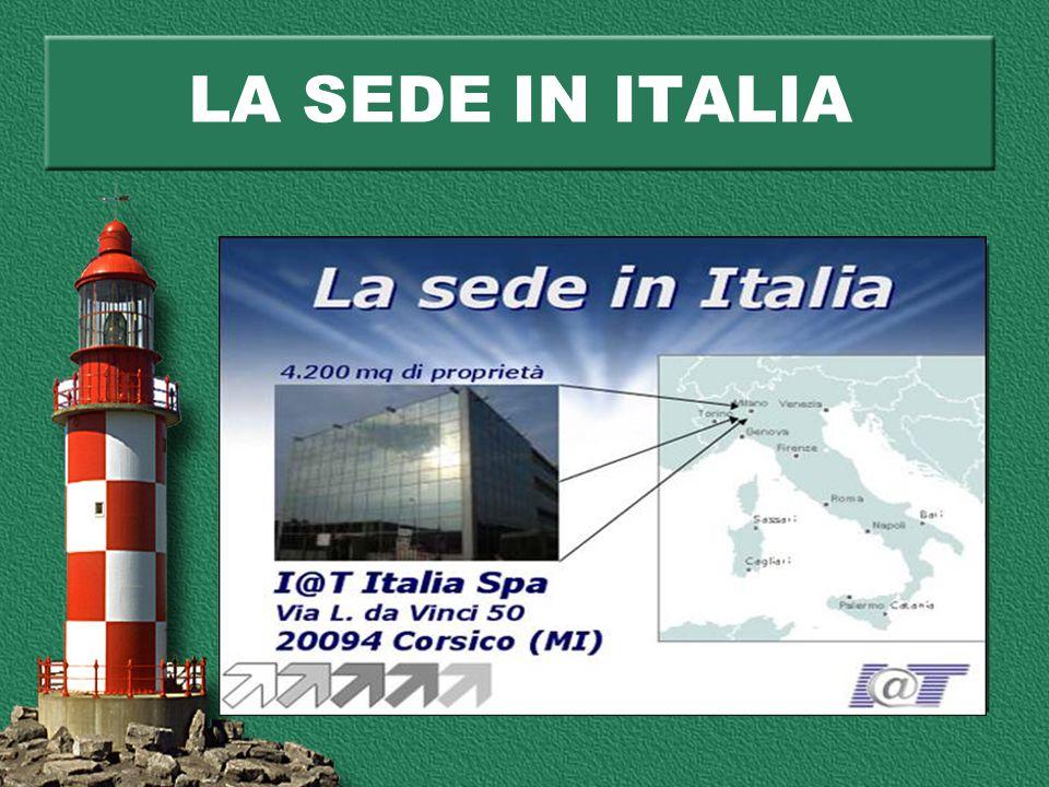 LA SEDE IN ITALIA