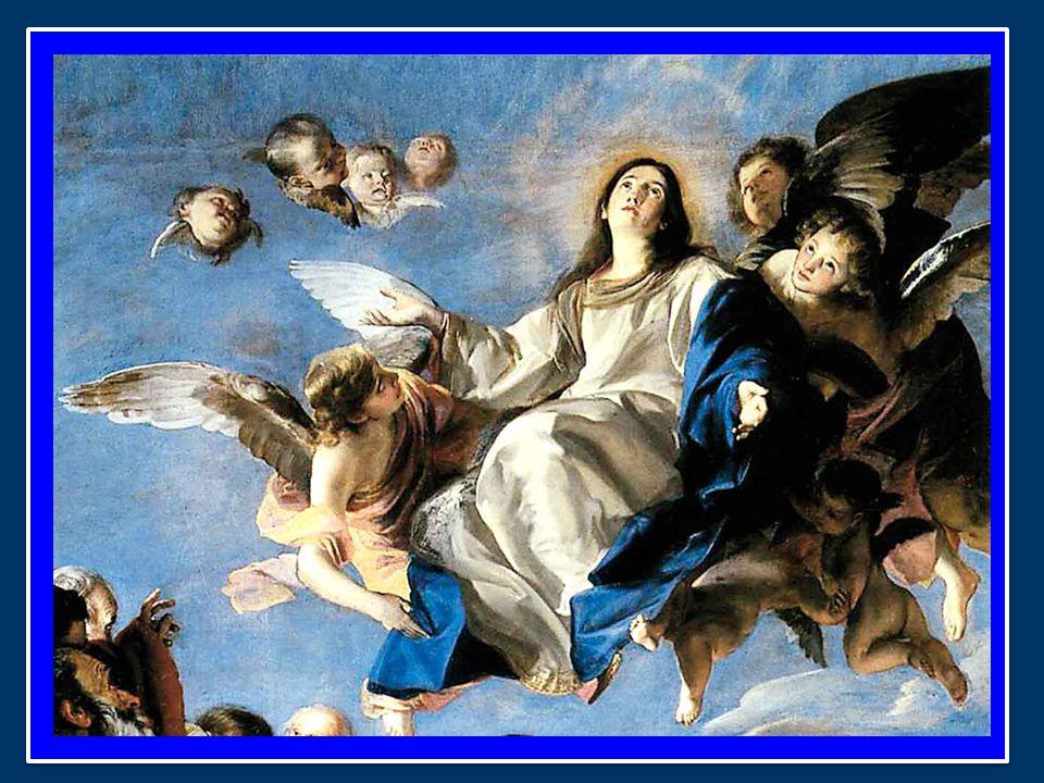 Anche un mistero arduo come quello odierno dell'Assunzione, egli sapeva presentarlo con immagini efficaci, ad esempio così: L'uomo era creato per il cielo.