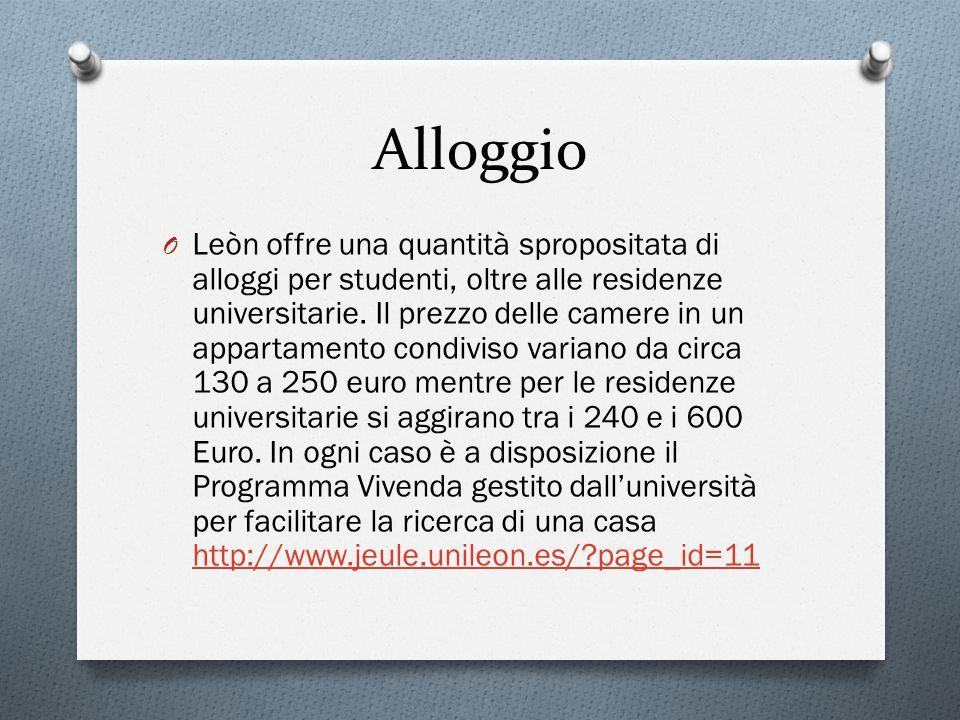 Alloggio O Leòn offre una quantità spropositata di alloggi per studenti, oltre alle residenze universitarie.