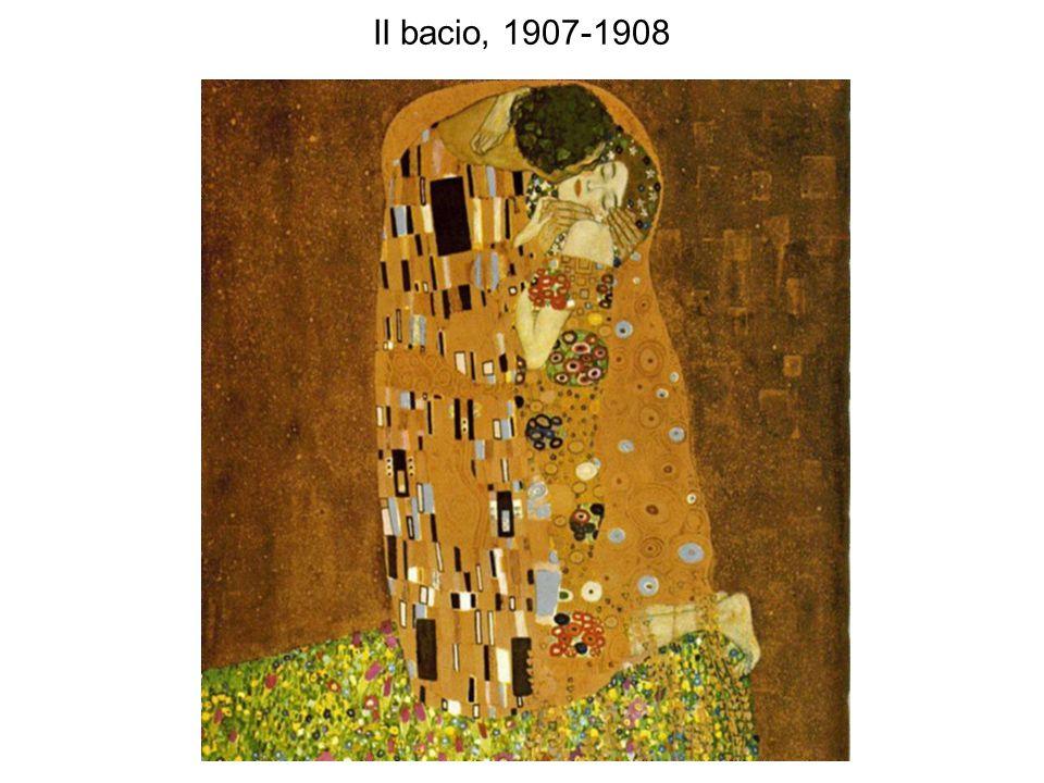 Il bacio, 1907-1908